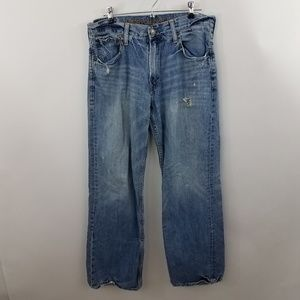 American Eagle Mens Jeans Loose Fit 31 x 32 Distre